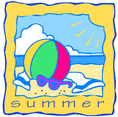 Summer Begins Clipart.