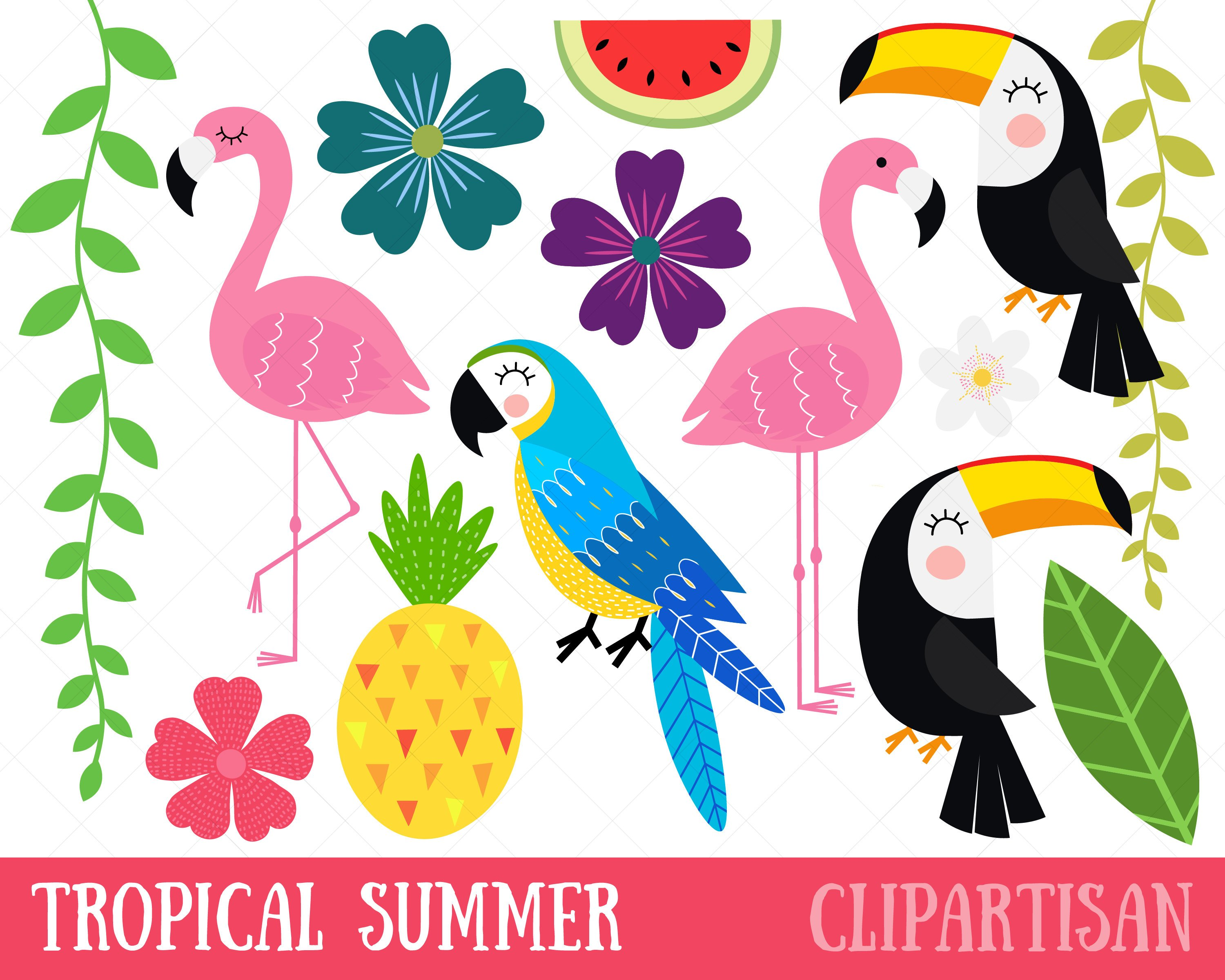 Tropical bird clipart 4 » Clipart Station.