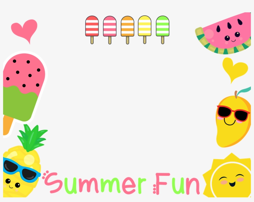 Download Free png No Logo Transparent Summer Fun Fruit.