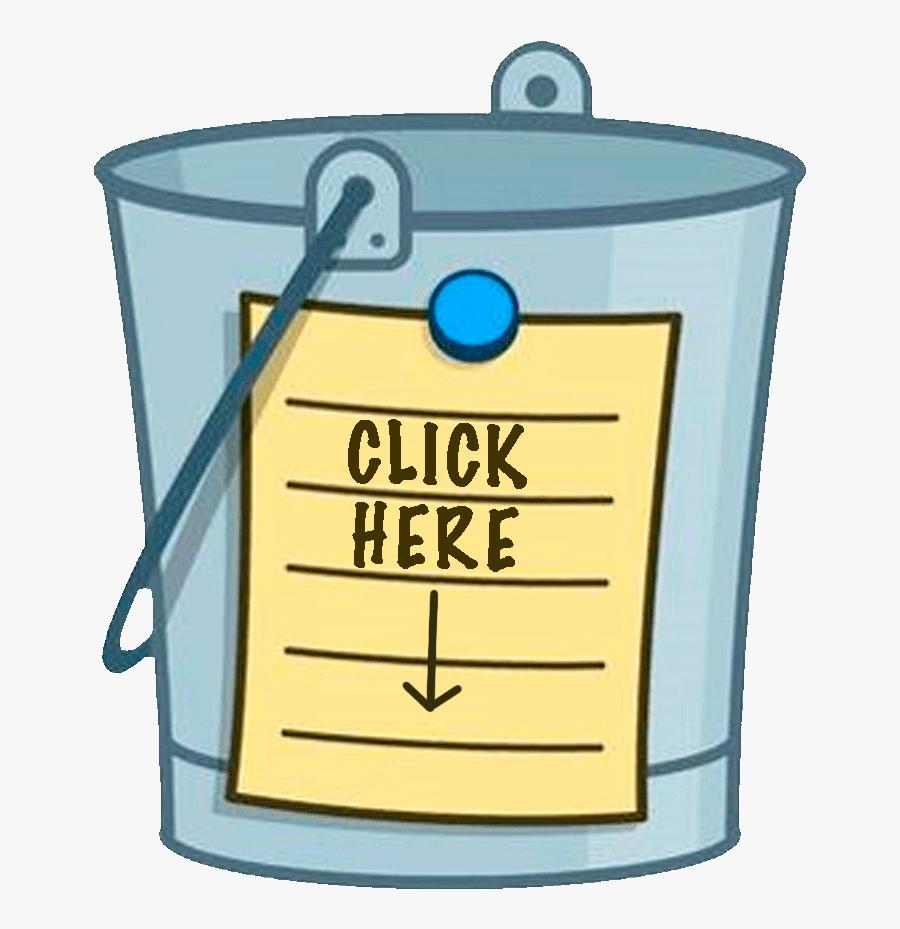 Bucket List Clipart , Png Download.
