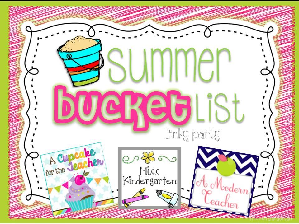 Summer Bucket List Linky!.