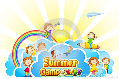 2206 Camp free clipart.