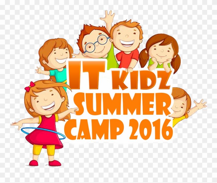 It Kidz Summer Camp Clipart (#2758179).