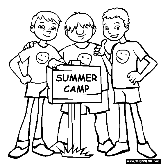 536 Summer Camp free clipart.