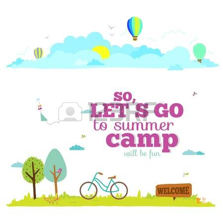 1,285 Summer Camp Kids Cliparts, Stock Vector And Royalty Free.