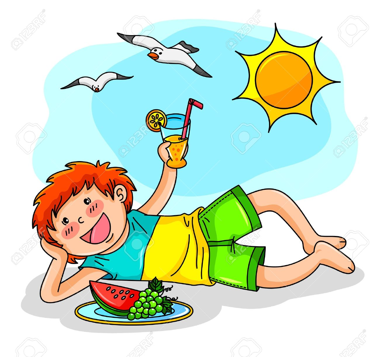Summer Clothing Clipart.