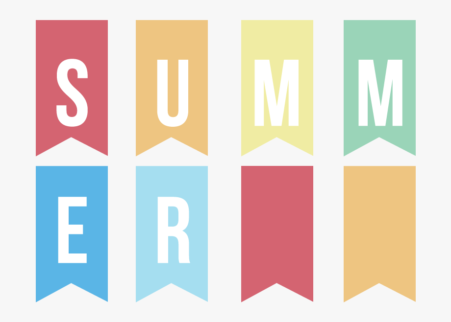 Summer Summer Summertime Banner Summertime Clipart.