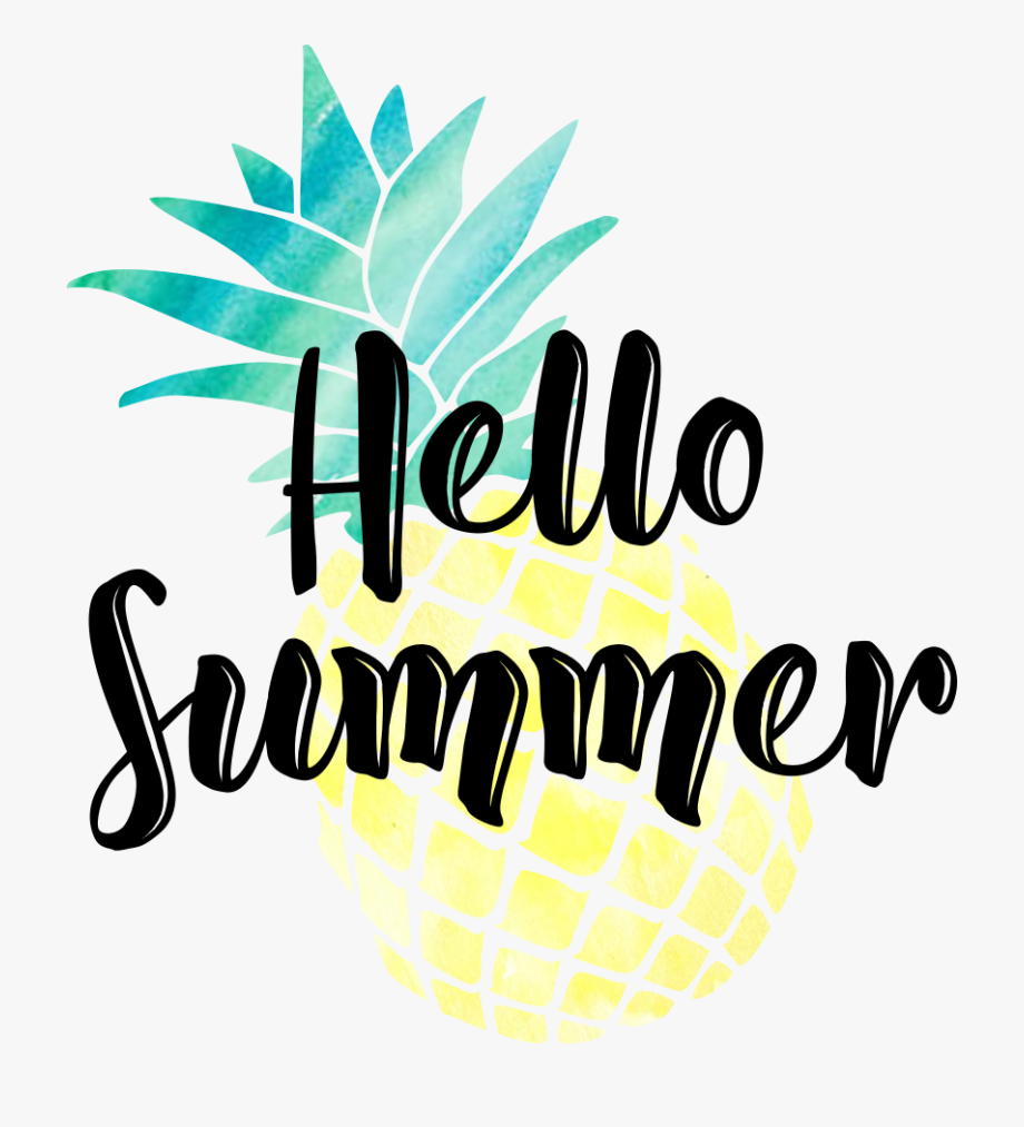 Hello Summer Clipart.