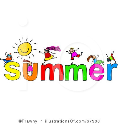 Clip Art. Summer Vacation Clipart. Stonetire Free Clip Art Images.