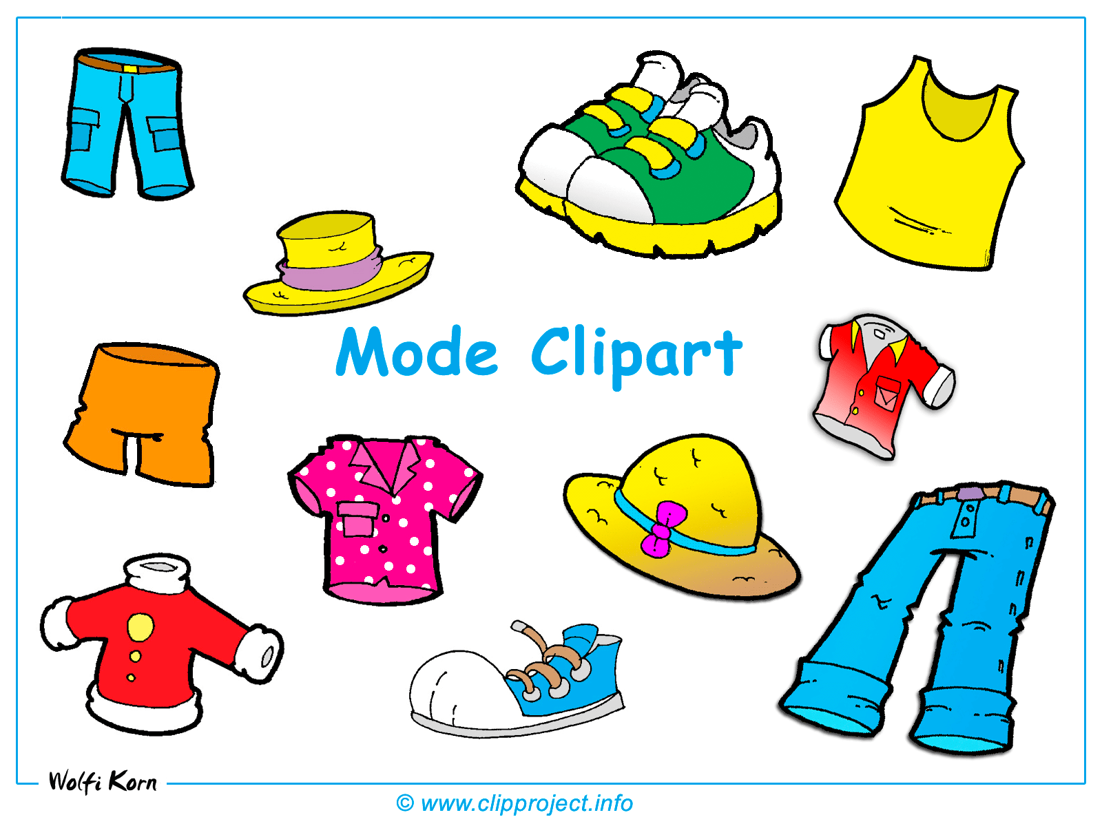 Summer clothes clipart 1 » Clipart Portal.