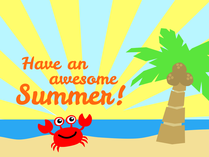 Holiday clipart free 1st day of summer.