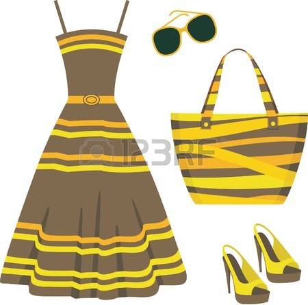 12,953 Summer Dress Stock Vector Illustration And Royalty Free.