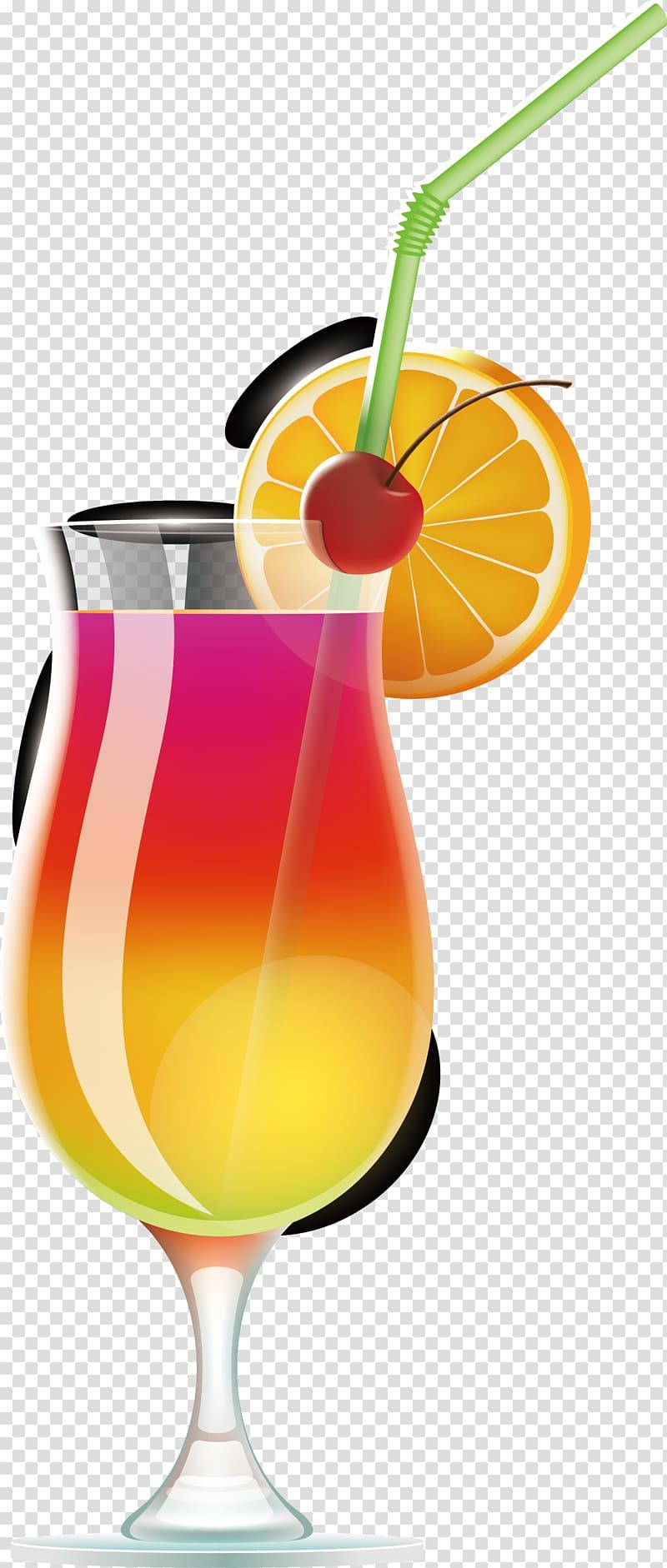 Wine cocktail Juice Tequila Sunrise Margarita, Summer drinks.