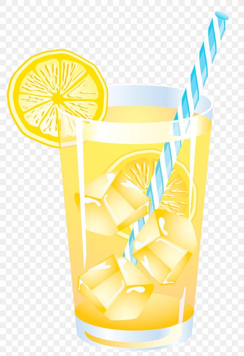 Lemon Summer Drink Vector Clipart, PNG, 3154x4589px, Fizzy.