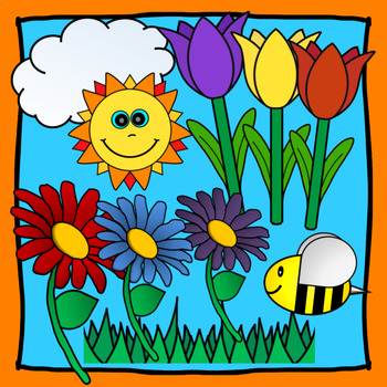 Spring and Summer Nature & Flowers Clipart (10 Free Images).