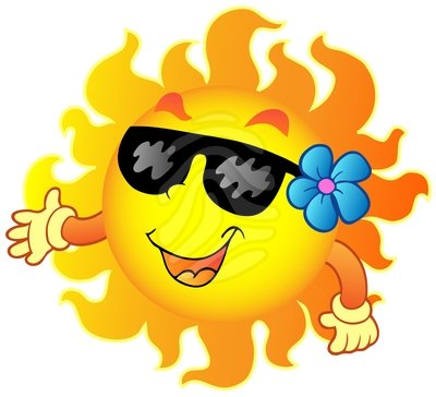 Happy summer clipart free clipart images 2.