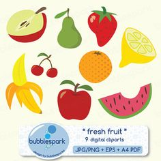 Mix Fruit Clipart.
