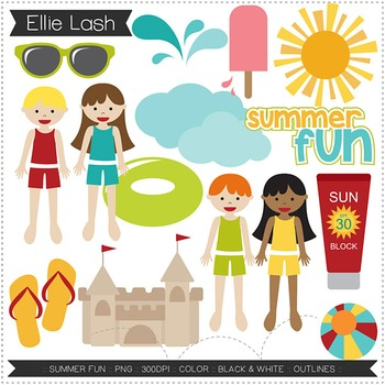 Summer Fun Clipart.