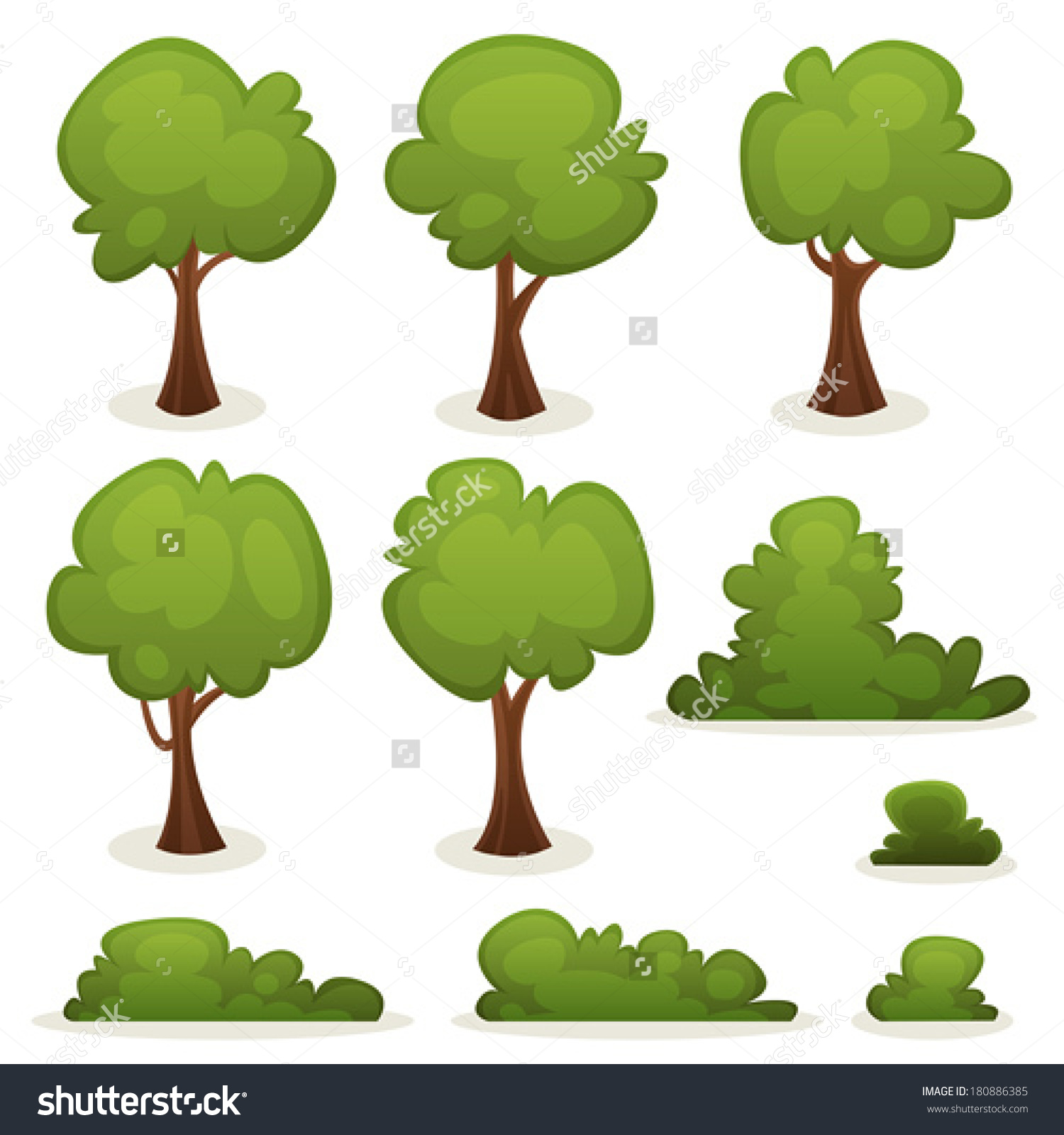 Showing post & media for Cartoon bushes and trees.