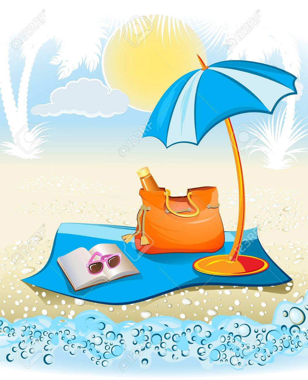 Summer holiday clipart 7 » Clipart Station.