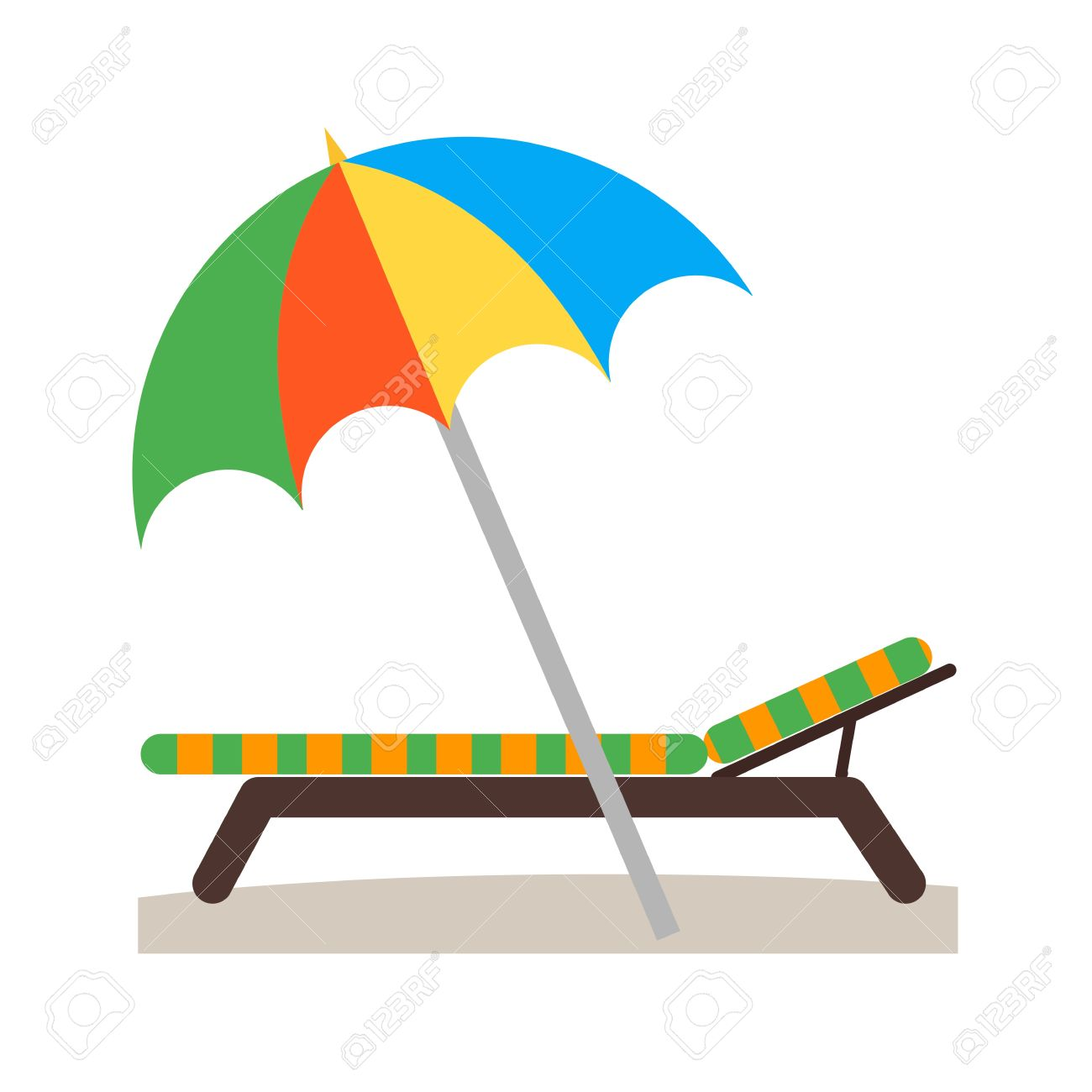 Vacation, Beach, Summer Icon Vector Image. Can Also Be Used For.