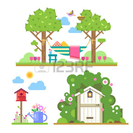 22,775 Summer House Stock Vector Illustration And Royalty Free.