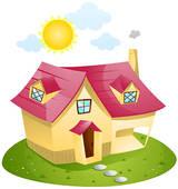 Stock Illustration of Summer House k1343328.