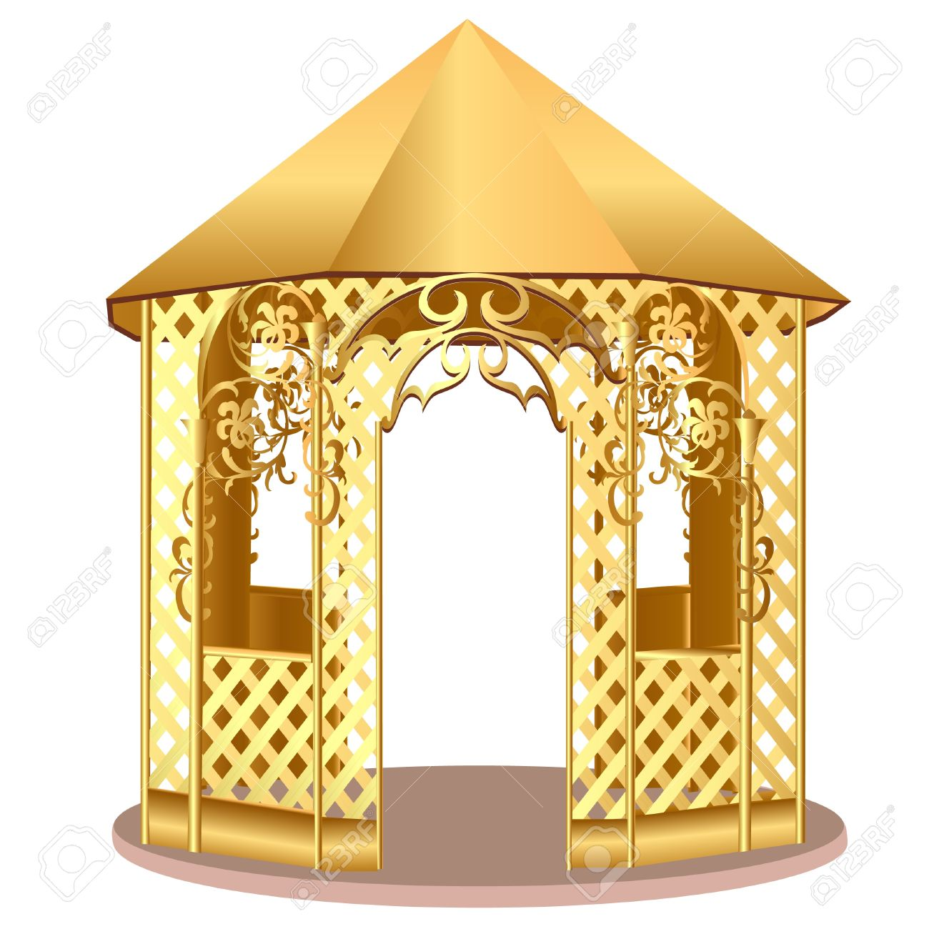 Free Clipart Of Summer House.