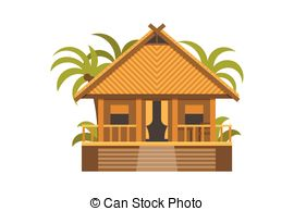 Bungalow house Vector Clip Art Illustrations. 603 Bungalow house.