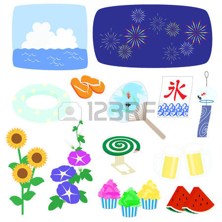 8,882 Japan Summer Stock Illustrations, Cliparts And Royalty Free.