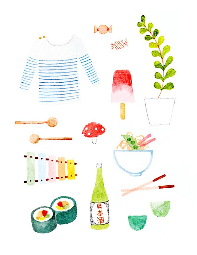 SUMMER IN JAPAN.