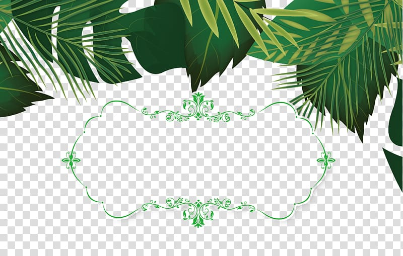 Green leaves , Leaf Template, Summer leaves decorative.