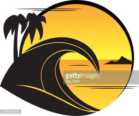 summer logo Clipart Image.