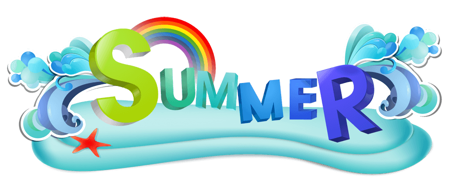 Summer Logos Clip Art.