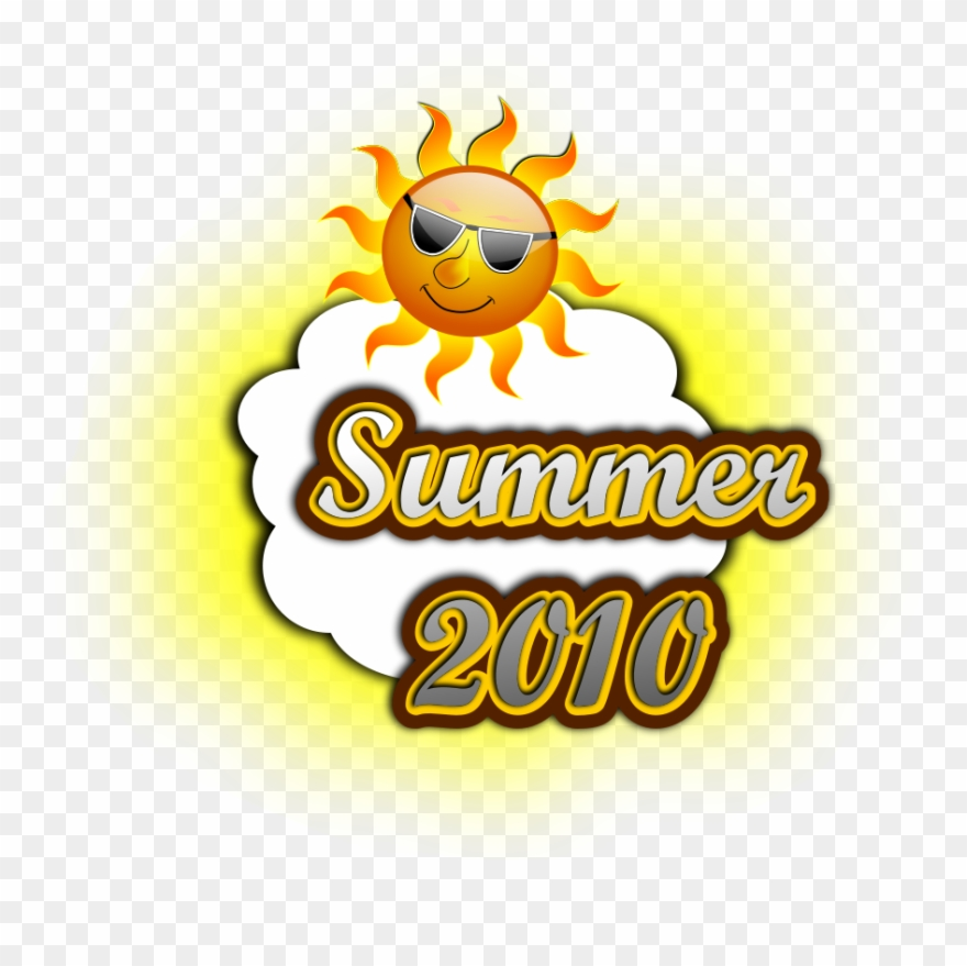 Summer 2010 Svg Vector File, Vector Clip Art Svg File.