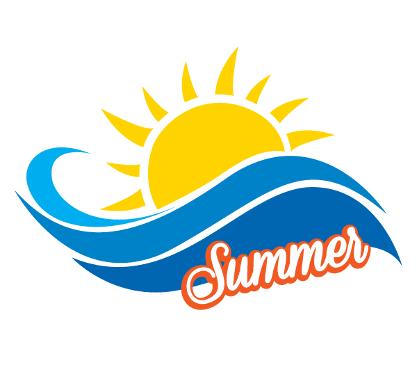 Beach Logo Vector.