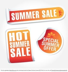 Free Summer Sale Cliparts in AI, SVG, EPS or PSD.