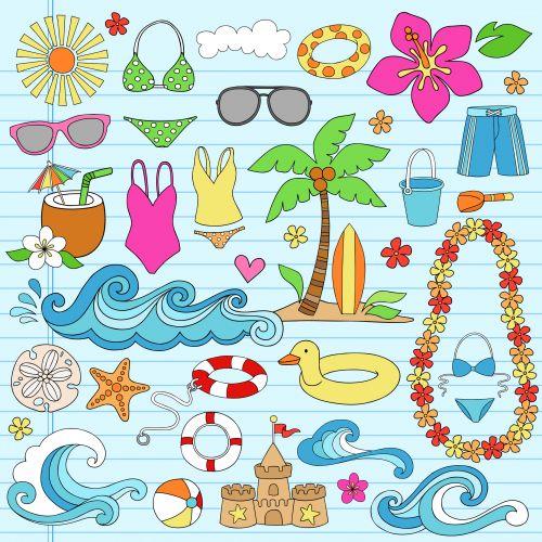 Summer Fun Clipart.