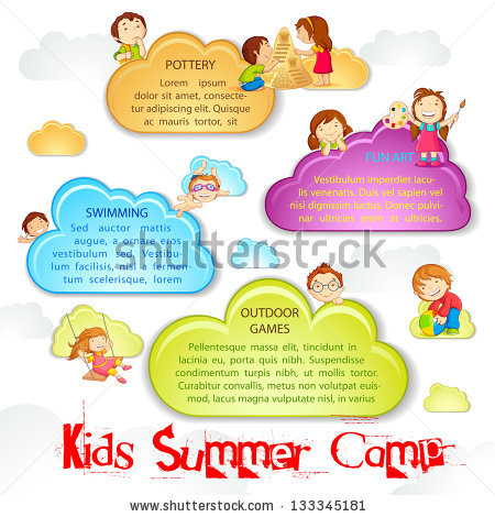 Summer Camp Stock Images, Royalty.