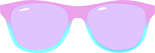 Purple And Blue Shades Clip Art at Clker.com.