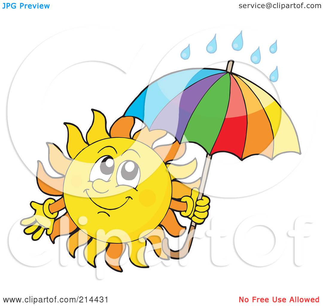 Wet From Rain Clipart.