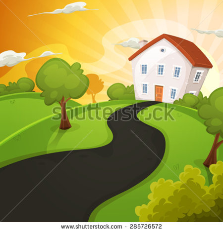 Summer Residence Stock Vectors & Vector Clip Art.