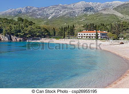 Stock Photographs of The summer residence of the Yugoslav King.