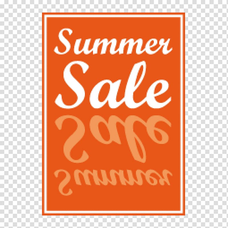 Poster Sales , summer sale transparent background PNG.