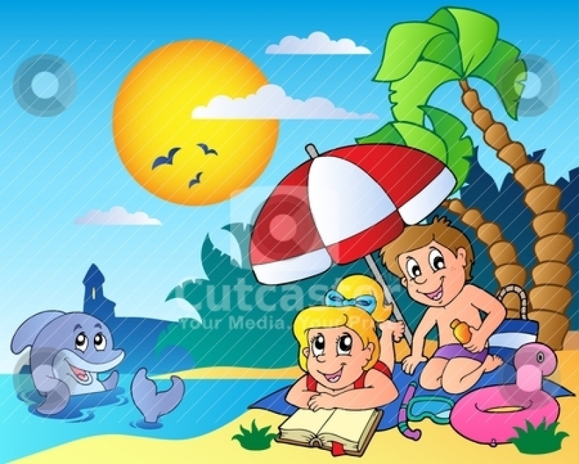 Clipart summer season pictures.