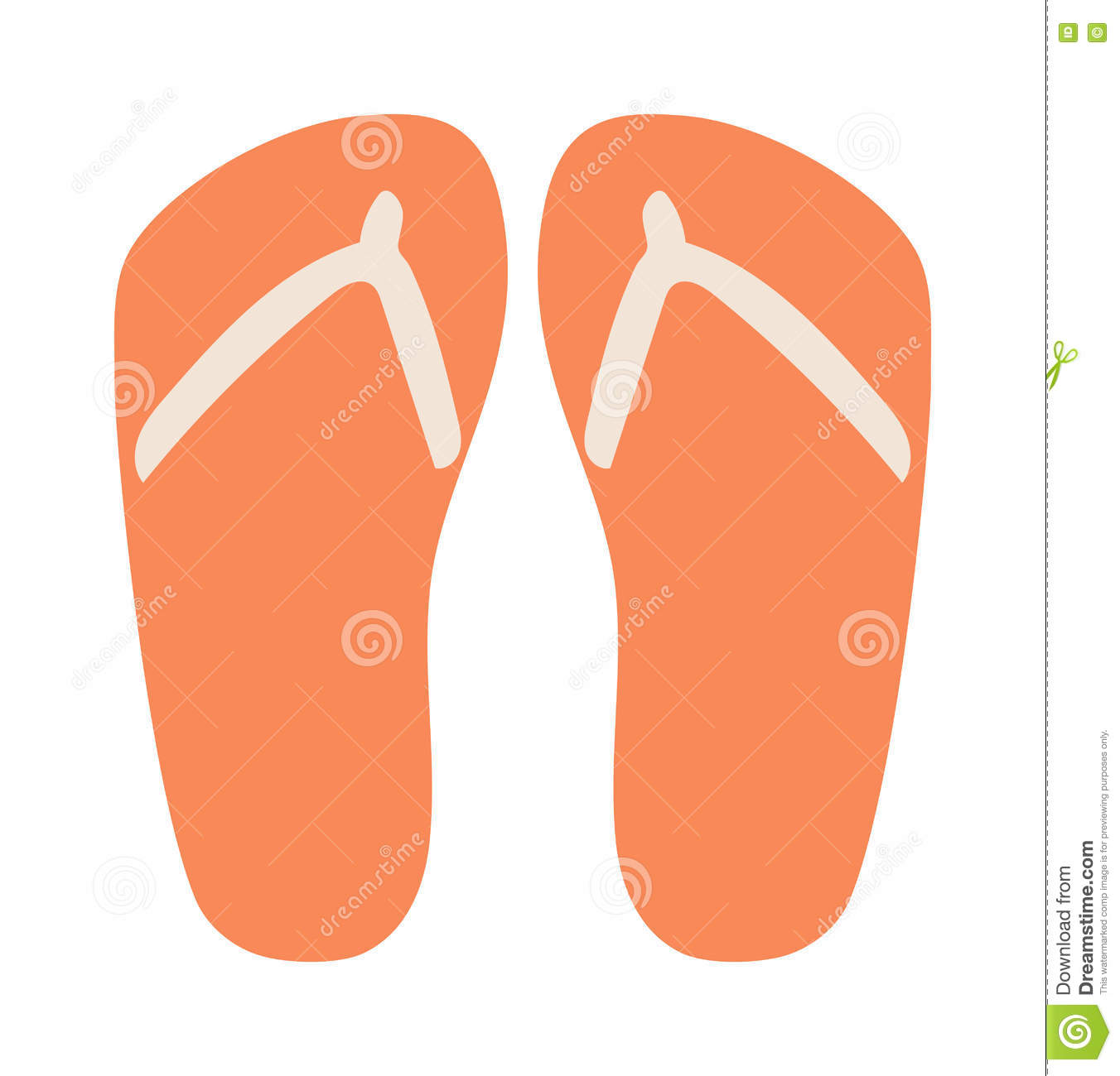 Beach Sneakers Summer Shoes Stock Vector.