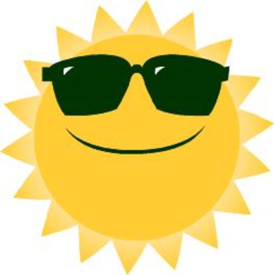 Summer sun clipart - Clipground