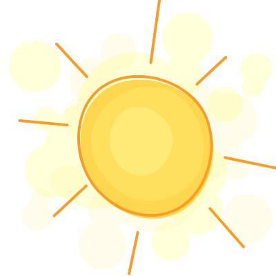 Summer Sun Clipart.