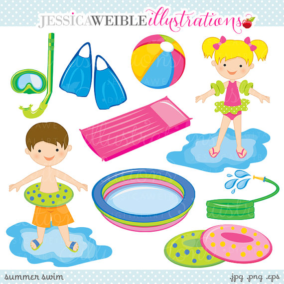 Summer Swimming Clipart Clipground
