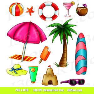 Summer Time Clip art Archives.